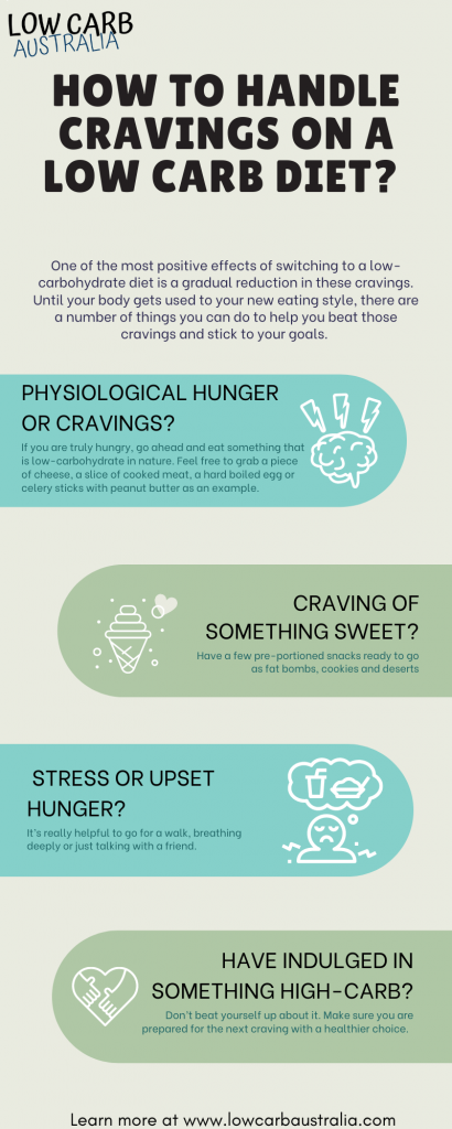 How to Handle Cravings on a Low Carb Diet?
