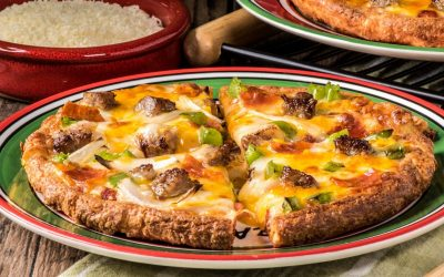 Keto Air Fryer Classic Pizza